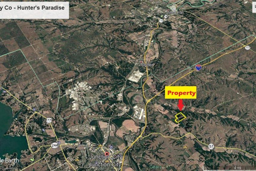 Google Earth Area View