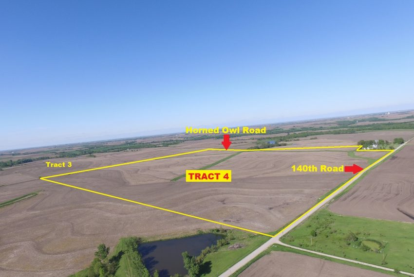 Tract 4 Outlined Aerial