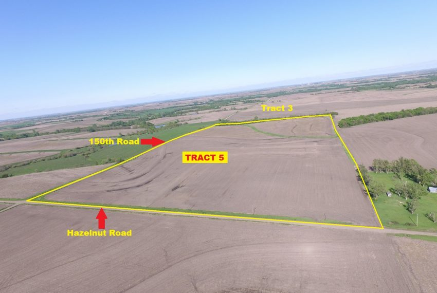 Tract 5 Outlined Aerial