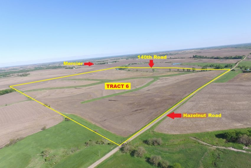 Tract 6 Outlined Aerial