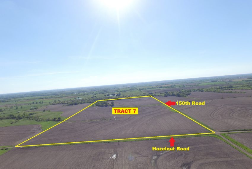 Tract 7 Outlined Aerial